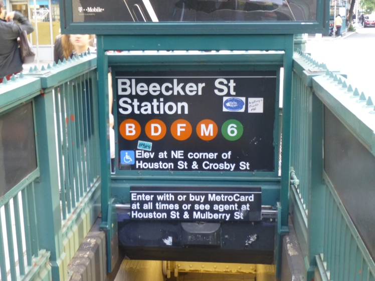 Bleeker Street subway.JPG